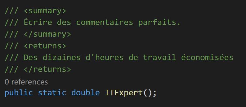 Écrire des commentaires de code PARFAITS : le guide ultime.